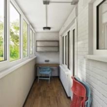Интерьер балкона в стиле лофт - особенности дизайна