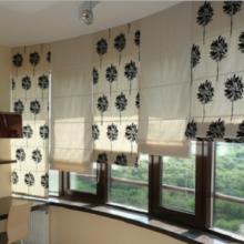 римские шторы на лоджии