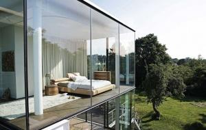 панорманое окно в доме