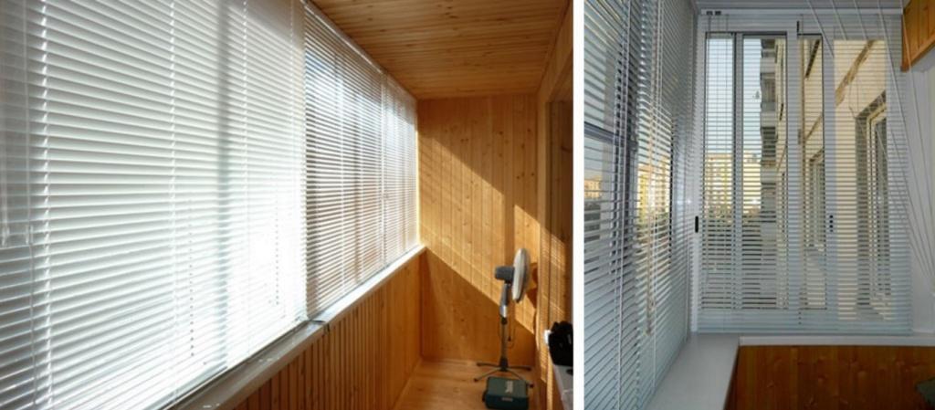 Жалюзи на пластиковые окна балкона и лоджии: выбор и установ.