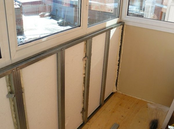 Материал для утепления балкона изнутри - всё о балконе.