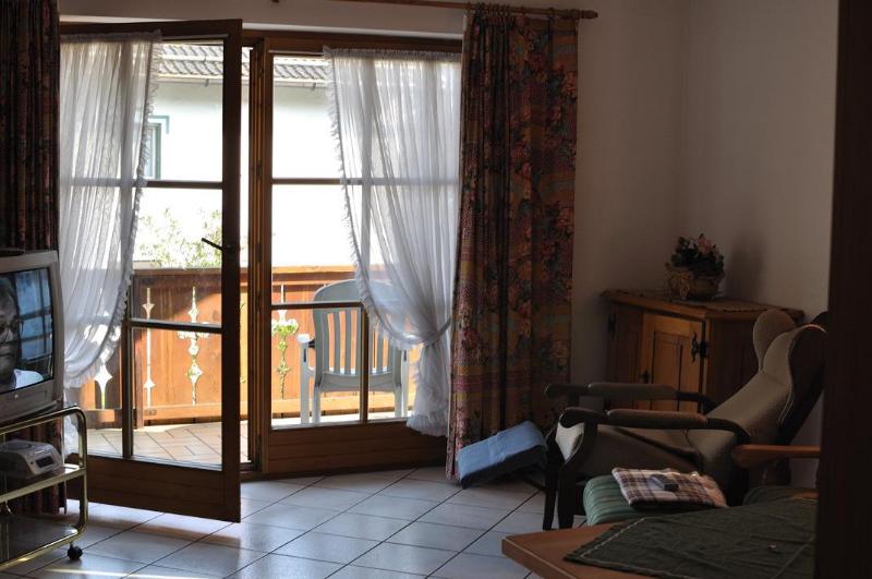 распашные стеклянные двери на балкон