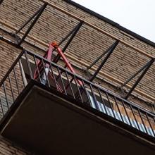 крыша балкона на последнем этаже