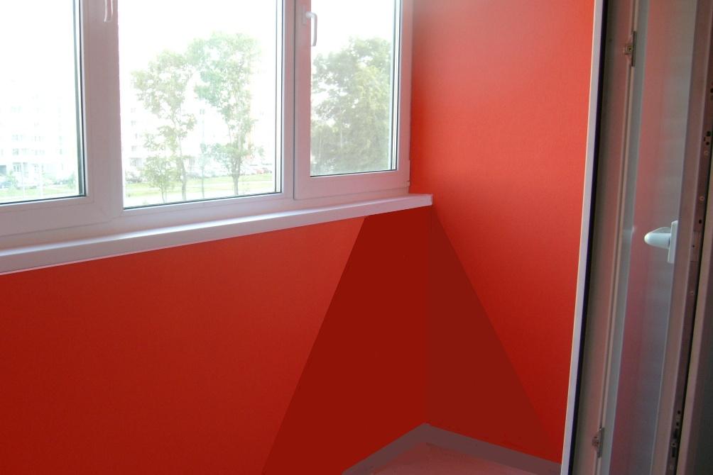 Покраска балкона внутри фото.