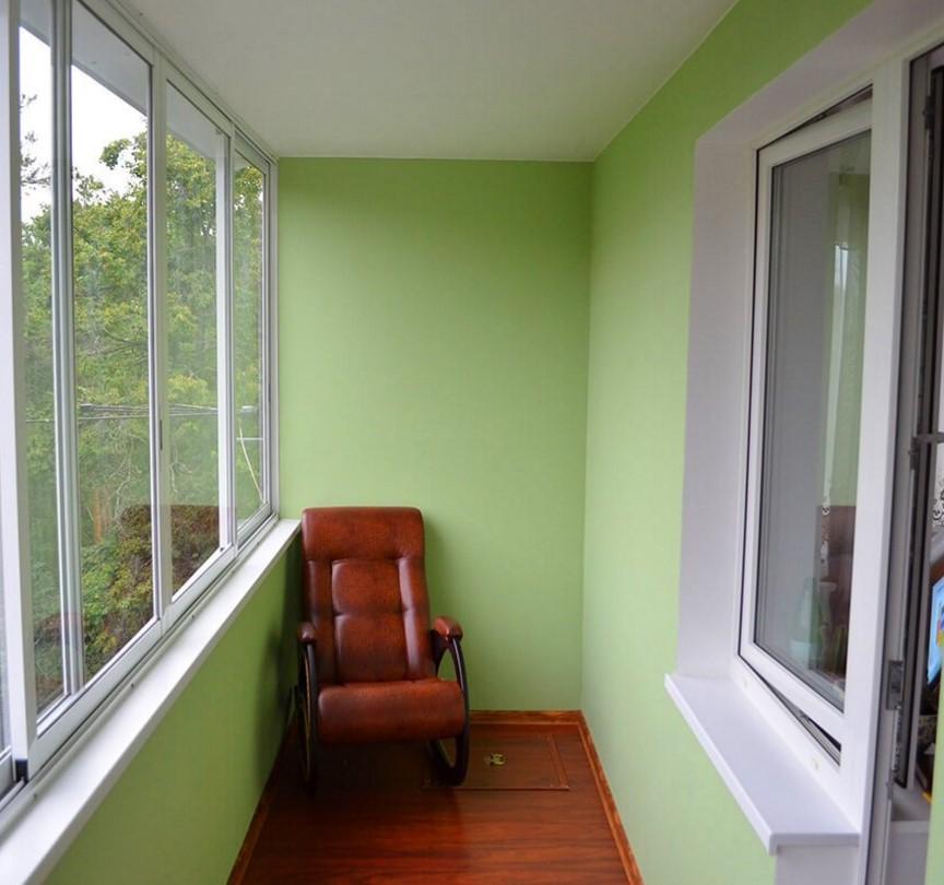 Отделка балкона внутри своими руками фото