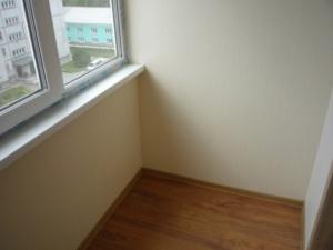 обшивка гипсокартоном балкона