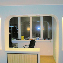 Объединение лоджии и балкона с комнатой - фото и особенности.
