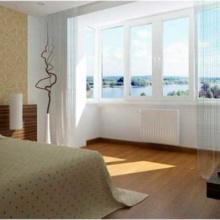 балкон совмещённый с комнатой фото