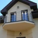 перила металлические на балкон