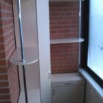 стеллаж угловой на балкон