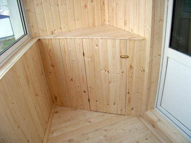Мебель для балкона складная, встроенная, готовая 36