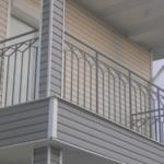перила на балкон фото из металла