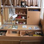 мастерская из балкона