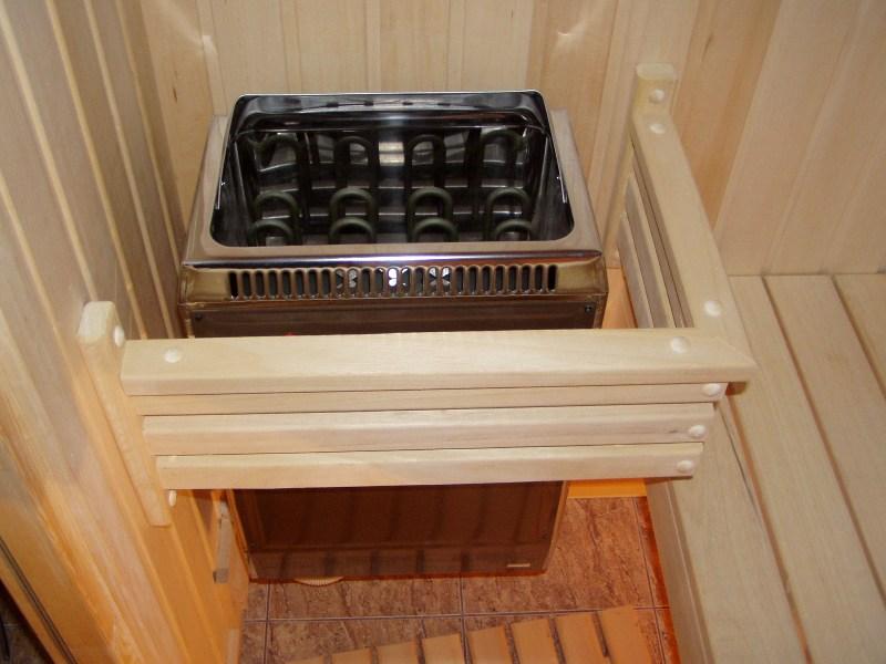 печь для сауны на балконе