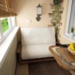 откидной стол на балкон