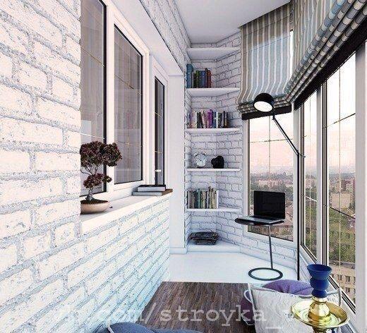 Postaviti balkon z opeko