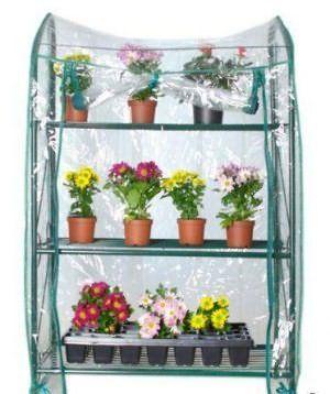 Парник (теплица) для выращивания рассады на балконе на 4 пол.