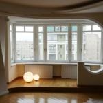 балкон соединен с комнатой