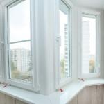 балкон с теплым остеклением