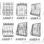 эскиз решеток на балкон