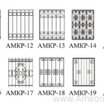 схема решеток на окна