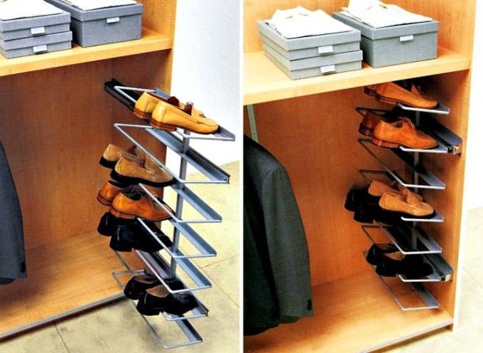 полка для обуви на балкон
