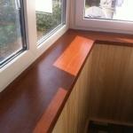 Как сделать подоконник на балконе своими руками - всё о балк.