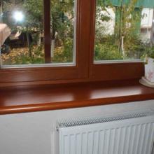 Подоконник на балконе своими руками: виды, фото и видео.