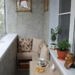 балкон с диванчиком