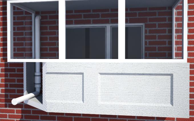 Вытяжная вентиляция на балконе или лоджии