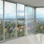 раздвижные конструкции на балконе