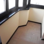 дизайнерский подоконник на балкон