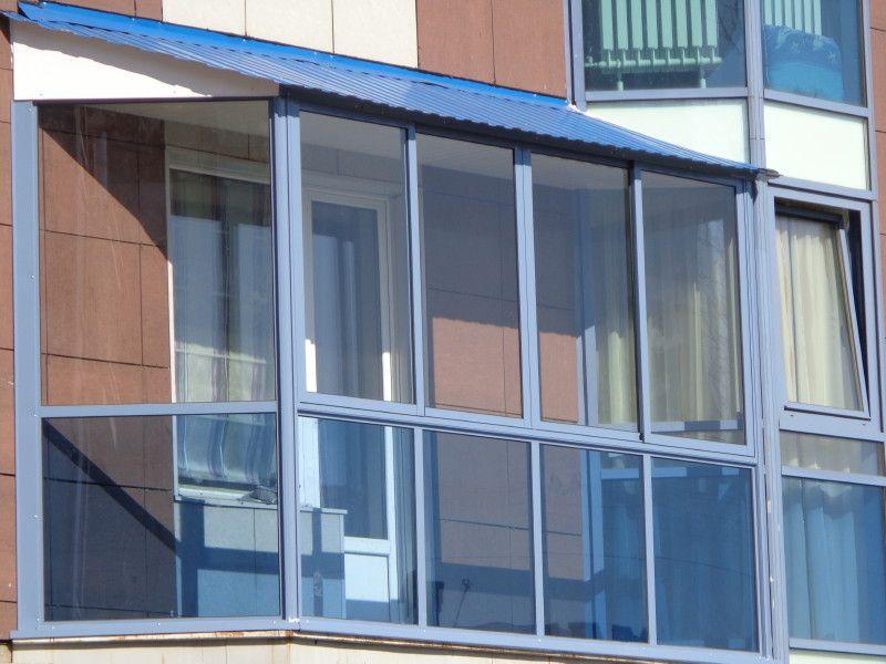 холодные окна на балкон