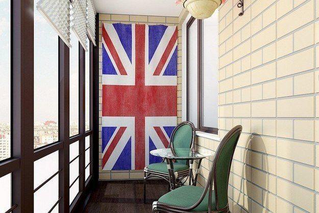 английский балкон