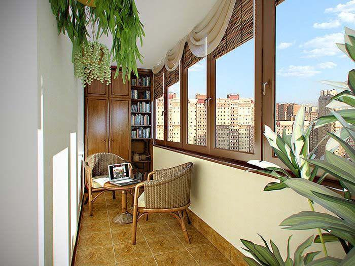 Балкон в итальянском стиле