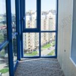 панорамное остекление балконов пластиковыми окнами