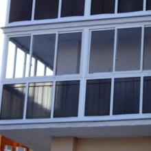 Фасадное остекление балконов и лоджий..