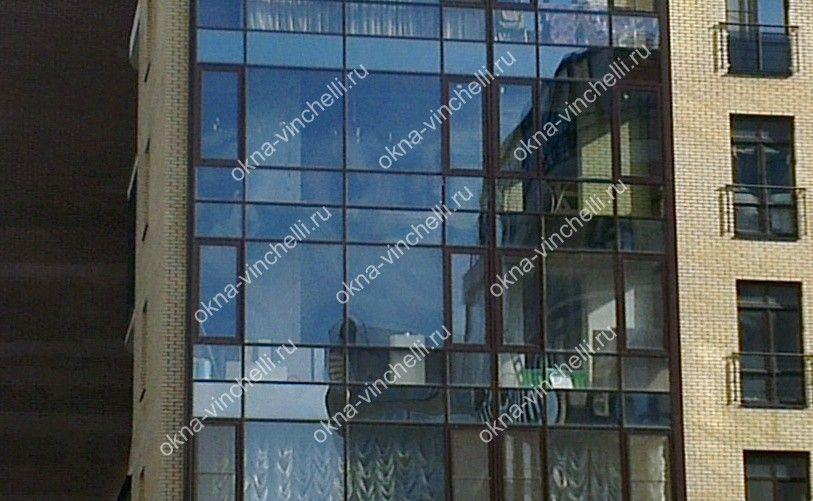 Витражное остекление балкона: фото, цена, преимущества и отз.