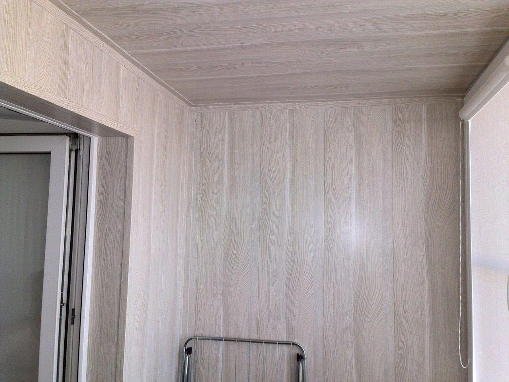 Частичный ремонт лоджии своими руками отделка стен панелями пхв 4