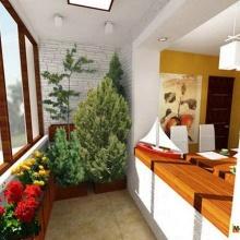 Обустройство зимнего сада на балконе квартиры