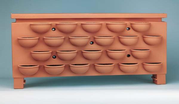 горшок для выращивания клубники на балконе