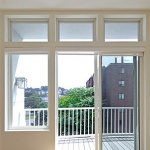 французские раздвижные двери на балкон