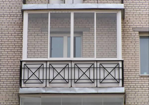 алюминиевый профиль на балкон