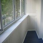 обшивка балконов пластиком