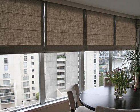 как сшить римские шторы на балкон