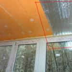 утепление потолка балкона с помощью пеноплекса