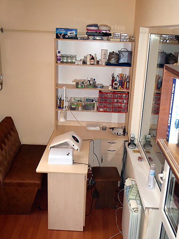 маникюрный кабинет на балконе