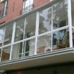 Панорамное остекление французского балкона