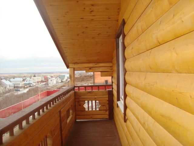 отделка балкона блок хаусом фото