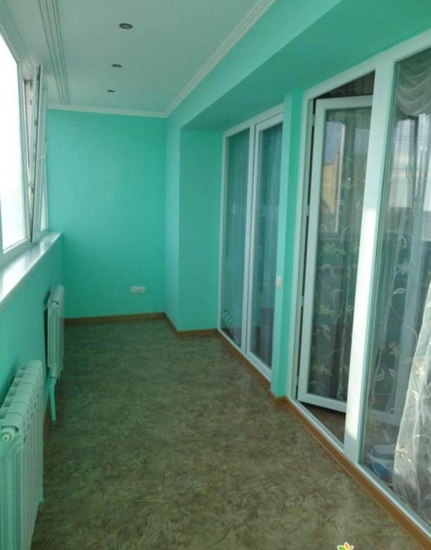 каким цветом покрасить балкон внутри фото